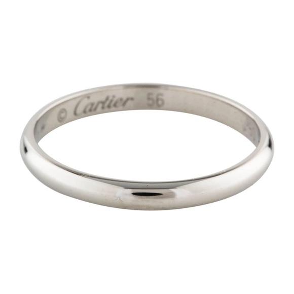 Cartier Jewelry 1895 Wedding Band Poshmark